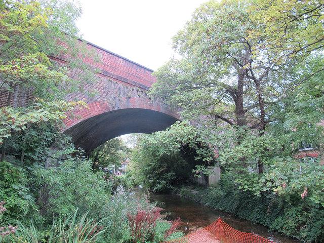 Railway Bridge over the Wandle