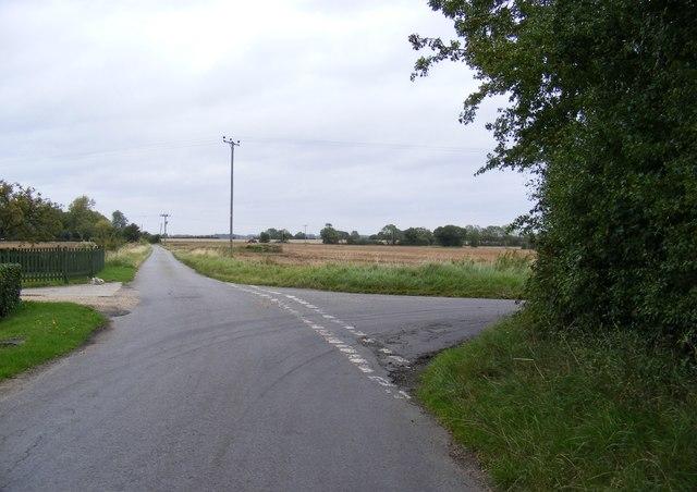 Lane Junction in Birs'd Lane