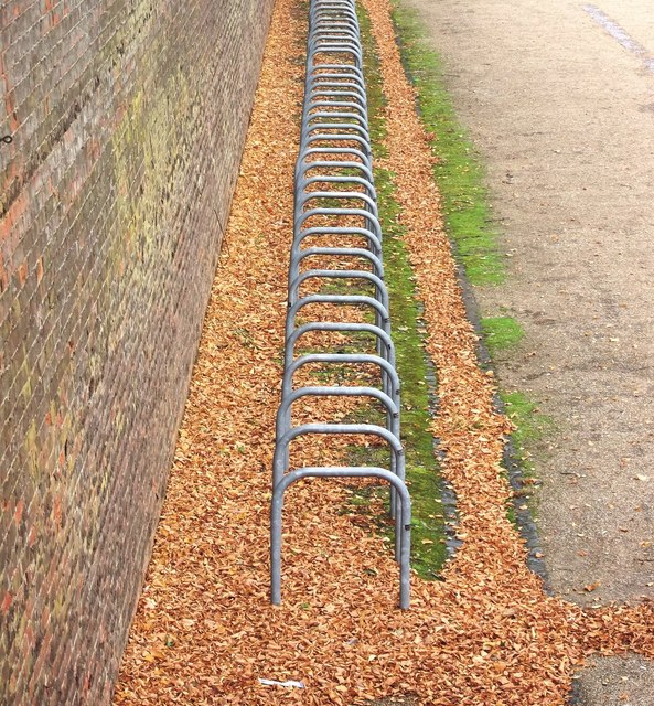Bicycle Racks, Drill Hall Library