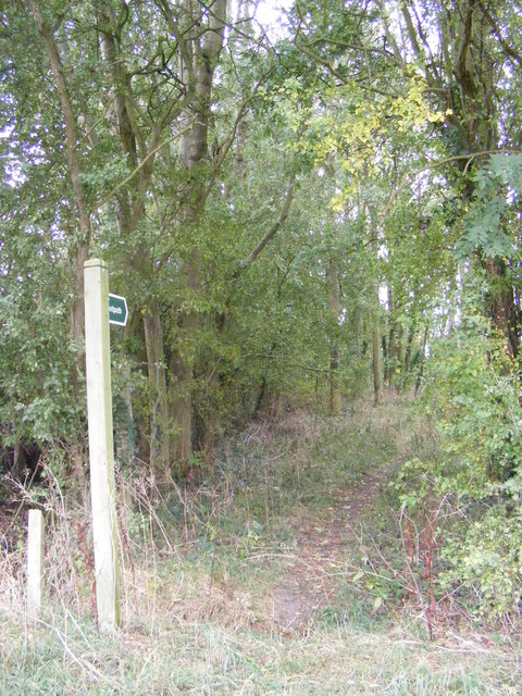 Footpath to Framsden Road & the B1077
