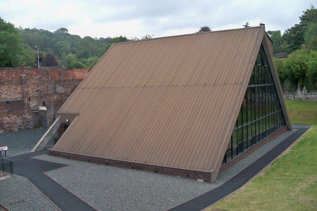 The Old Furnace Building - Coalbrookdale