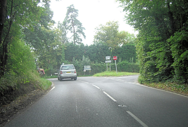 A28 joins the A268