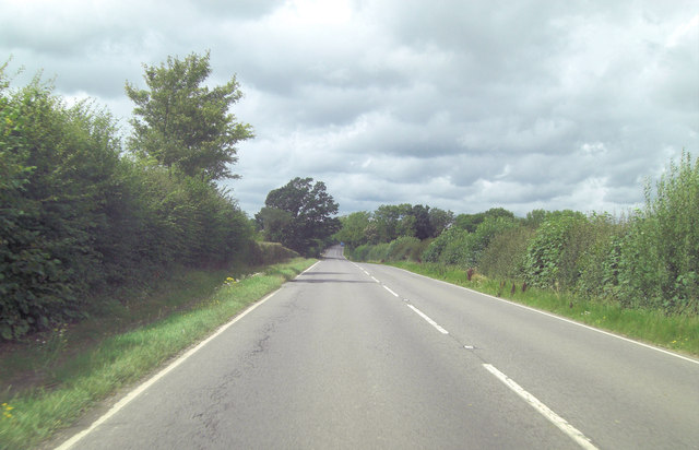 A268 approaches Linkhill