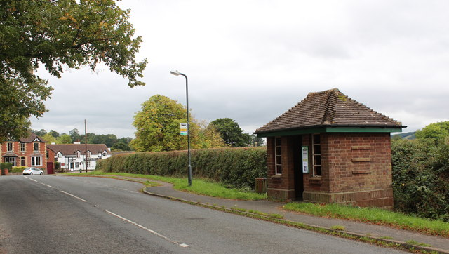 Colwall Green Bus Shelter