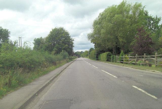 A268 approaches Sandhurst