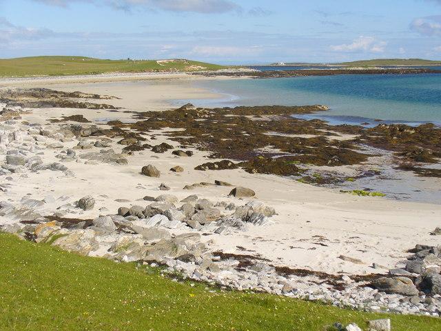 Bay by Cnoc nan Claigean