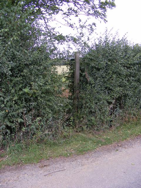 Footpath to Framsden & Otley Roads