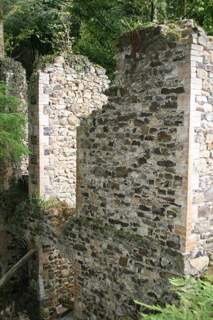 Ruin above Otterhead lakes