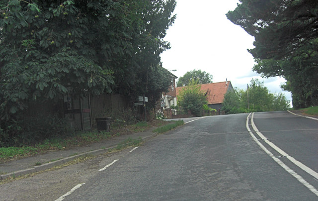 A268 junction with Conghurst Lane