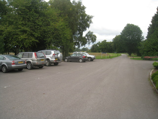 Oakley Hall car park