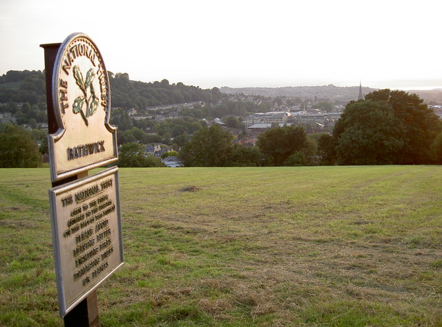 View of Bath from Bathwick Hill