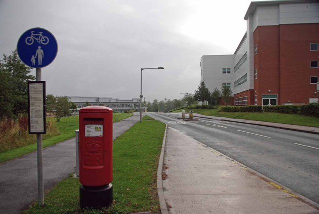 A Damp Sunday on Keele Campus