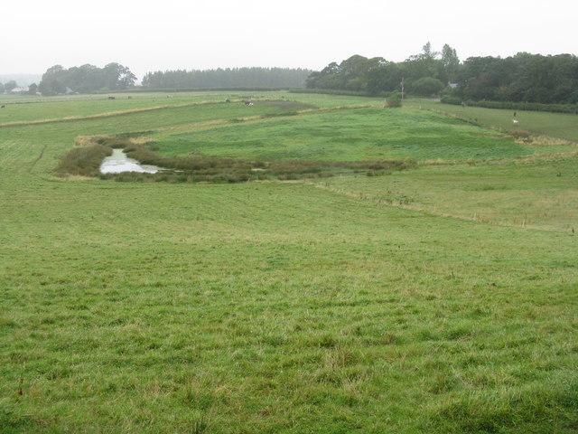 Farmland near Temple Farm