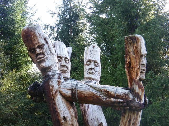 Frank Bruce Sculptures