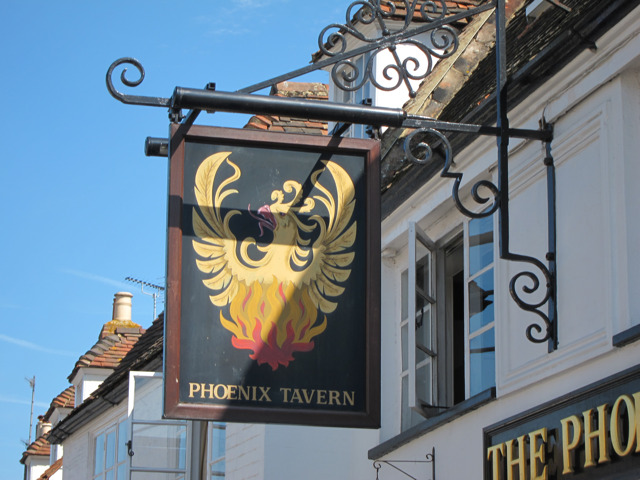 Phoenix Tavern sign