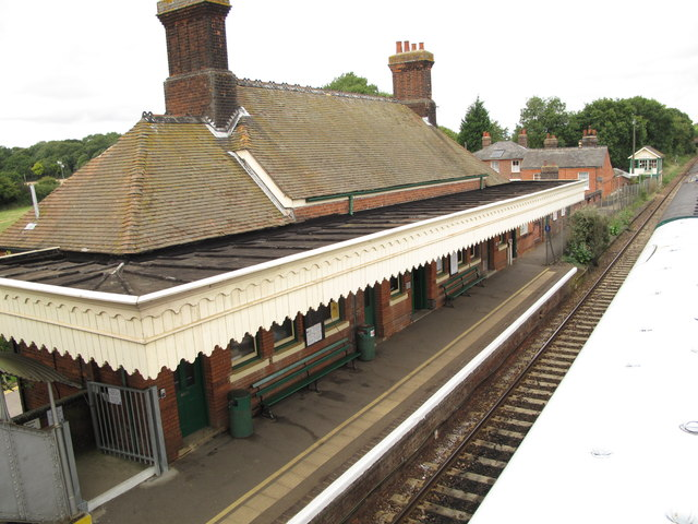 Chappel and Wakes Colne railway station