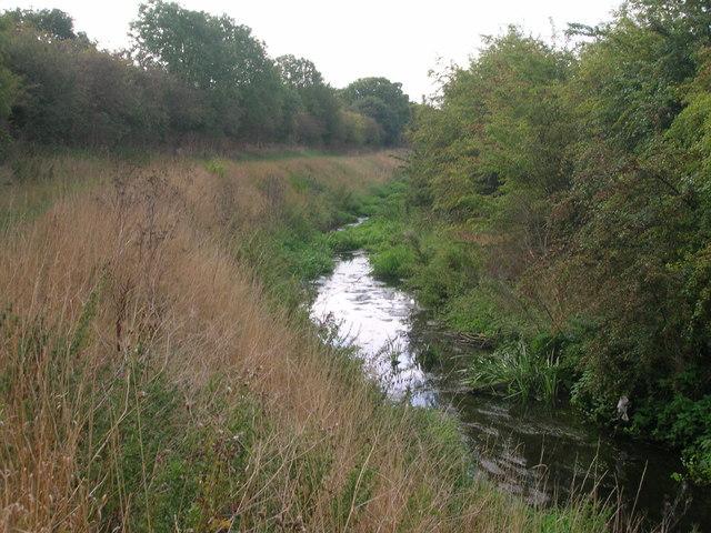 Watercourse beside Fowler Bridge Road
