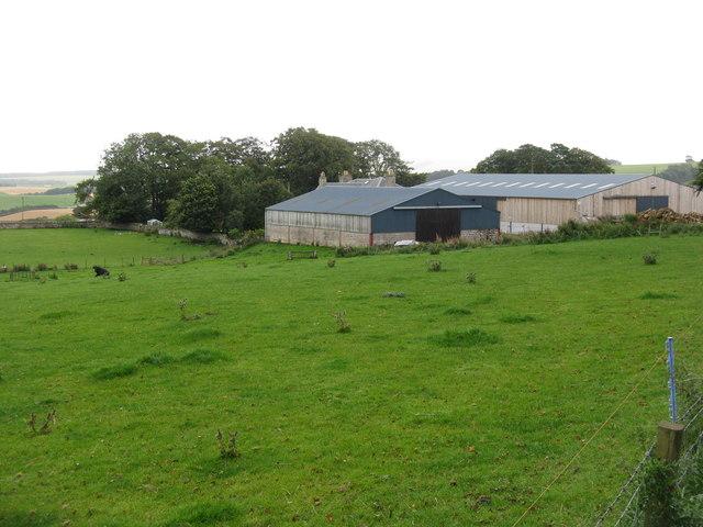 Halkerston farm buildings