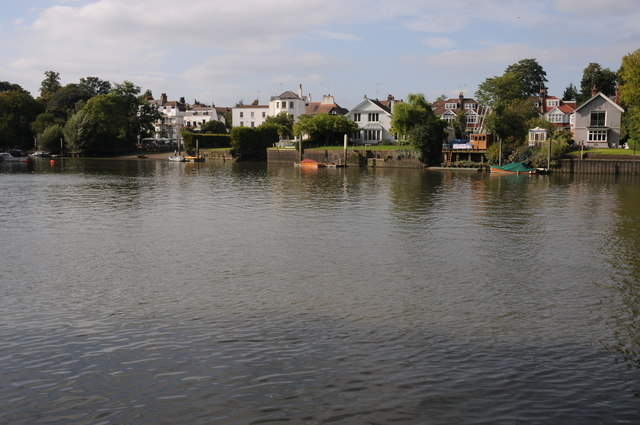 The Thames near Eel Pie Island
