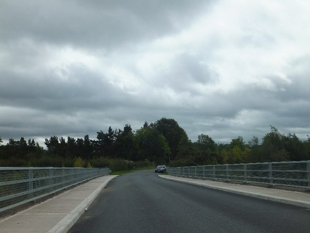 Bridge carrying Old Exeter Road over A38