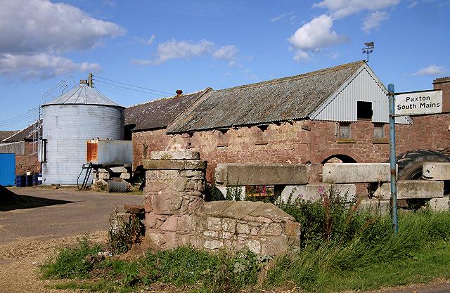 Paxton South Mains Farm