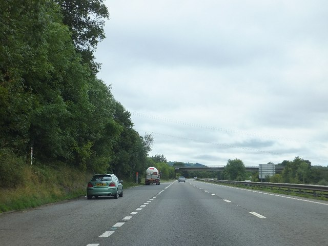 Lay-by on A38 southwest of Chudleigh