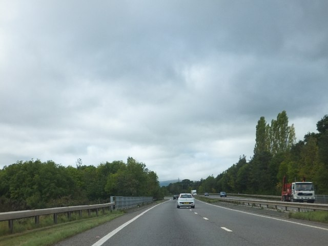 A38 bridge over River Teign