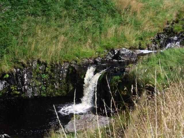 Campsie Fells, waterfall on Kirk Burn [5]