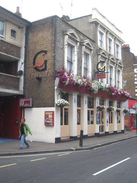 The Goose public house in North End Road Fulham