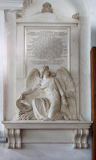 Mary May memorial - St Mary's church, Hale (4)