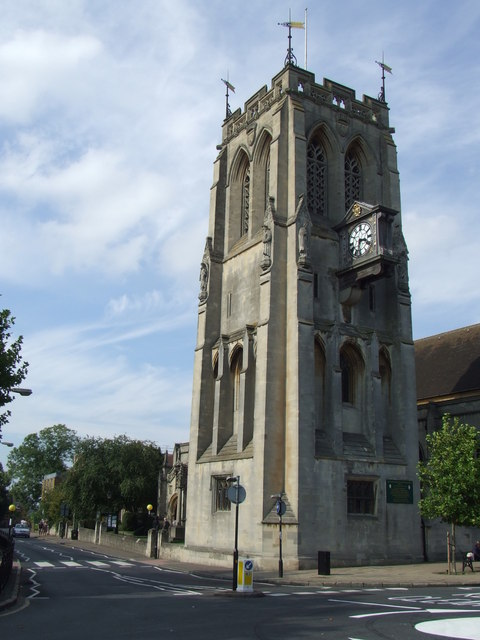 Church tower, Epping
