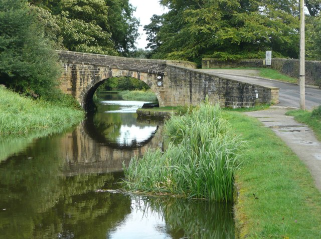 Canal Bridge at Tenterfields, Luddenden Foot