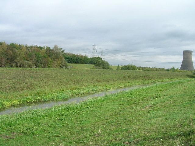 Watercourse near Thorpe Marsh Power Station