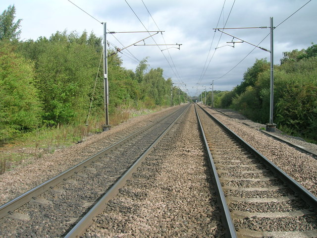 Railway towards Selby
