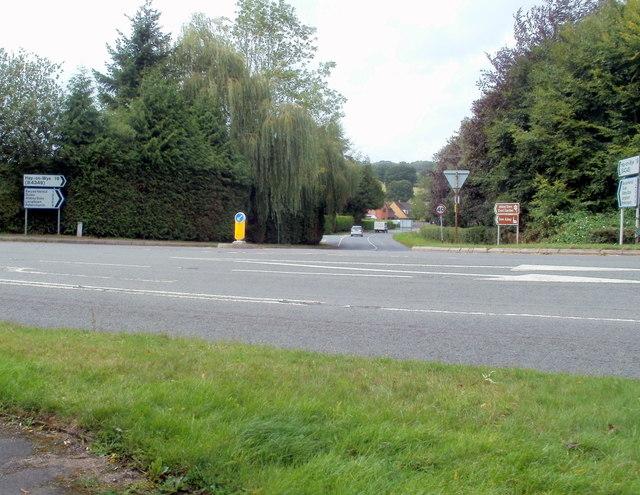 Road from Pontrilas to Ewyas Harold