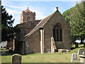SP2581 : Church of St Lawrence, old Meriden  by Robin Stott