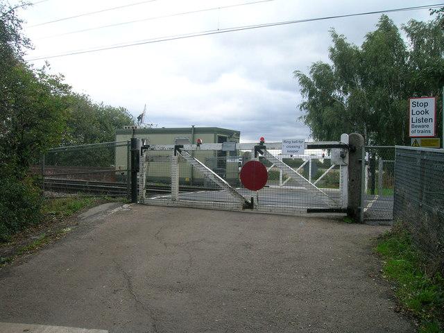 Barcroft Gates Level Crossing