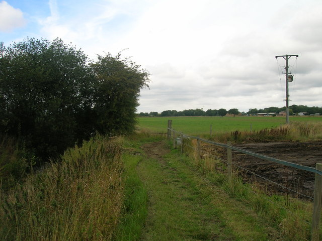 Bridleway towards Heyworth Lane