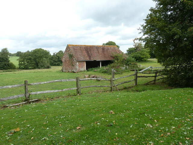Disused barn near Chailey Moat