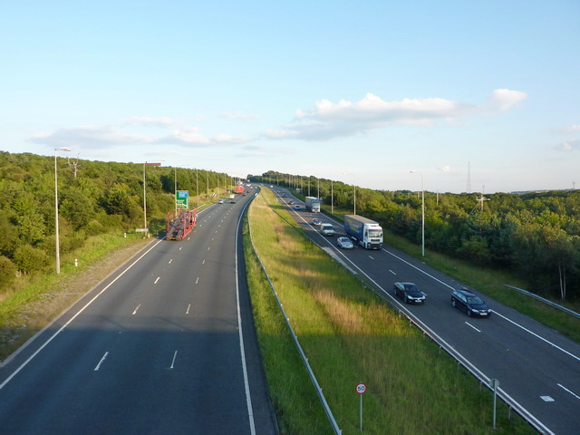 A1 from Smithy Lane bridge