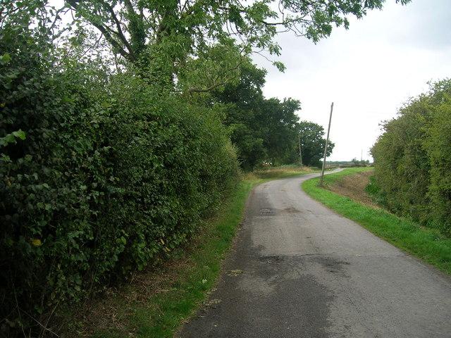 Wrancarr Lane heading west