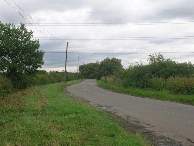 Willow Bridge Lane towards Braithwaite