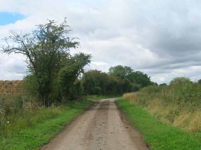 Brick Kiln Lane towards Askern