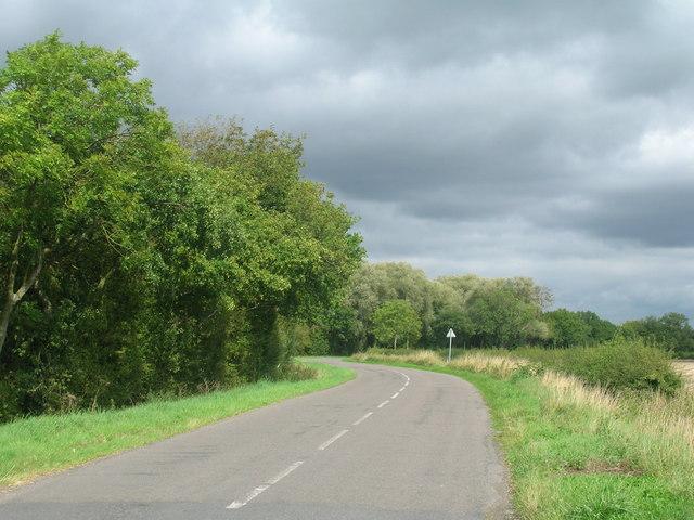 Flashley Carr Lane towards Sykehouse