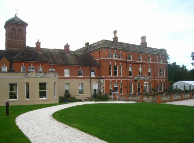 South facade - Oakley Hall