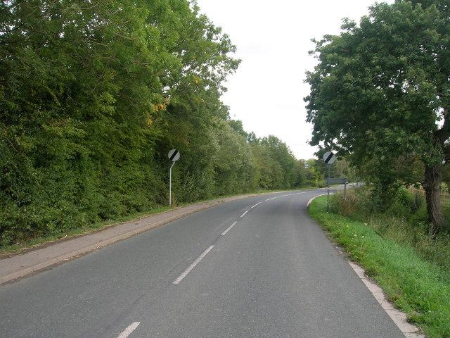 Broad Lane heading east