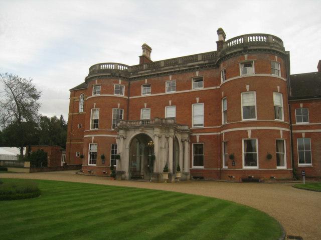 North facade - Oakley Hall