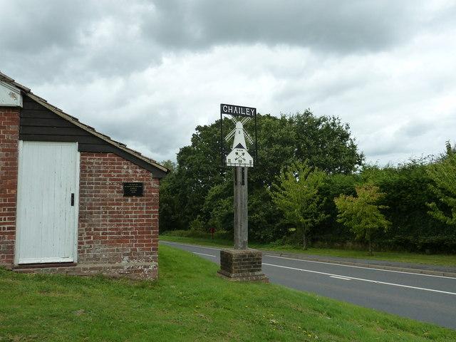 Chailey village sign