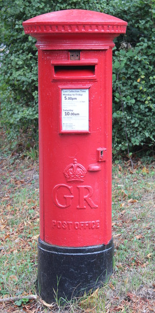 Postbox, Mathon Turn, Colwall