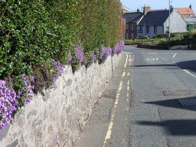 Road junction, Coldingham
